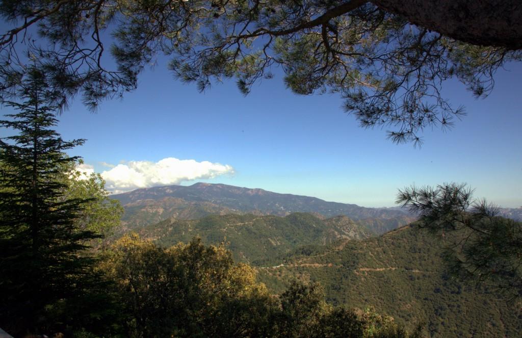 Zdjęcia: Klasztor Kykkos, Góry Troodos, Pasmo gór Troodos, CYPR