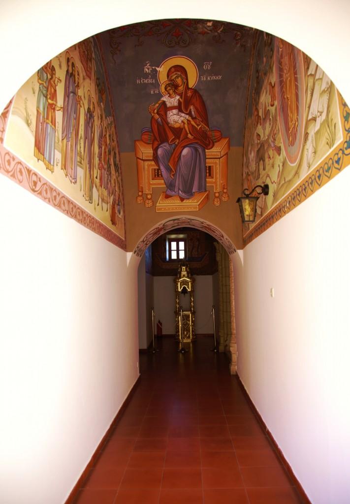 Zdjęcia: Klasztor Kykkos, Góry Troodos, Patronka, CYPR
