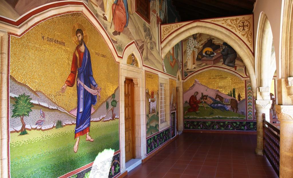 Zdjęcia: Klasztor Kykkos, Góry Troodos, Malowidła, CYPR