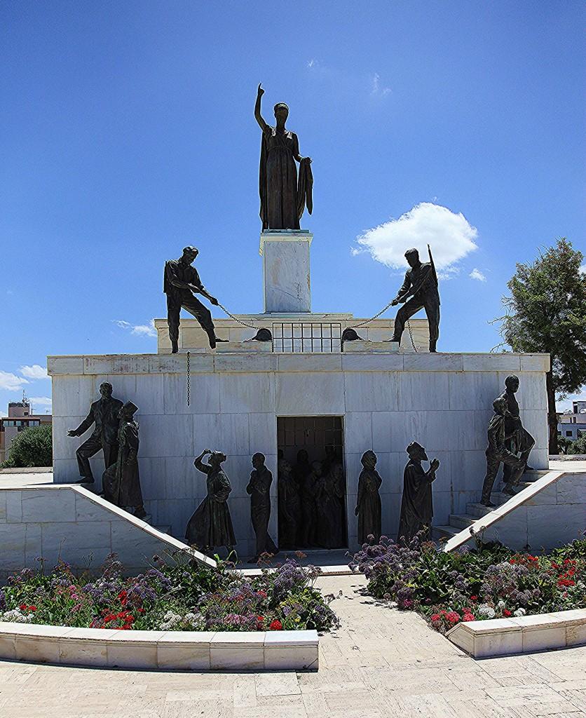 Zdjęcia: Brama Famagusta, Nikozja, Pomnik Wyzwolenia, CYPR