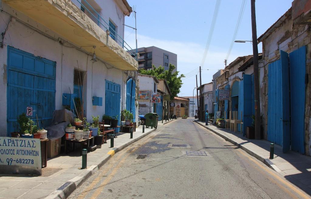 Zdjęcia: Stare Miasto, Larnaka, Błękitne drzwi, CYPR