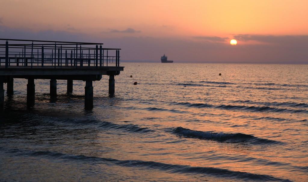 Zdjęcia: Molo, Larnaka, Rejs o poranku, CYPR