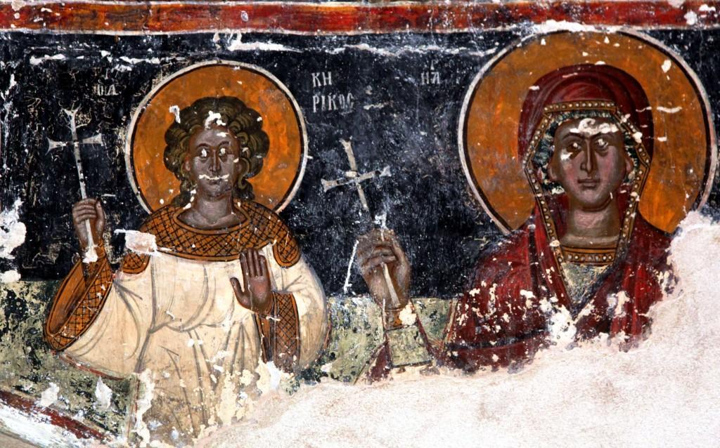 Zdjęcia: Kościół Agios Andronikos, Polis Chrysochous, Malowidła ścienne, CYPR