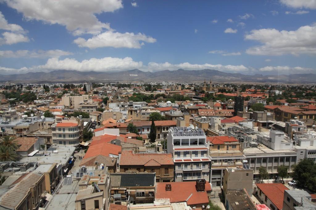Zdjęcia: Punkt widokowy, Nikozja, Panorama miasta, CYPR