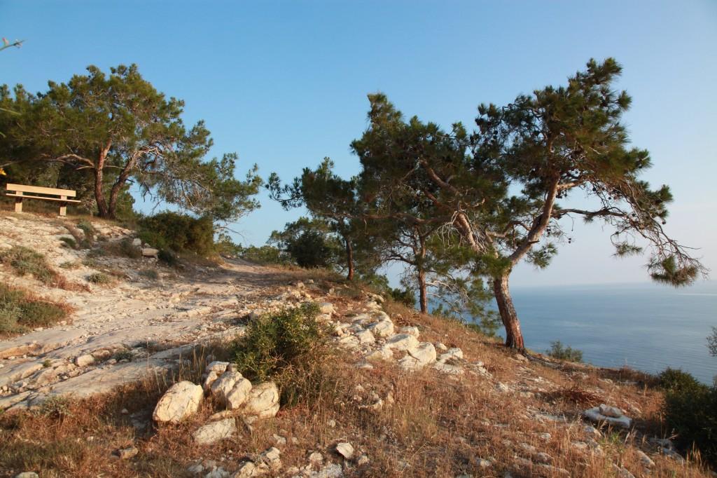 Zdjęcia: Półwysep Akamas, Polis Chrysochous, Ławeczka z widokiem, CYPR