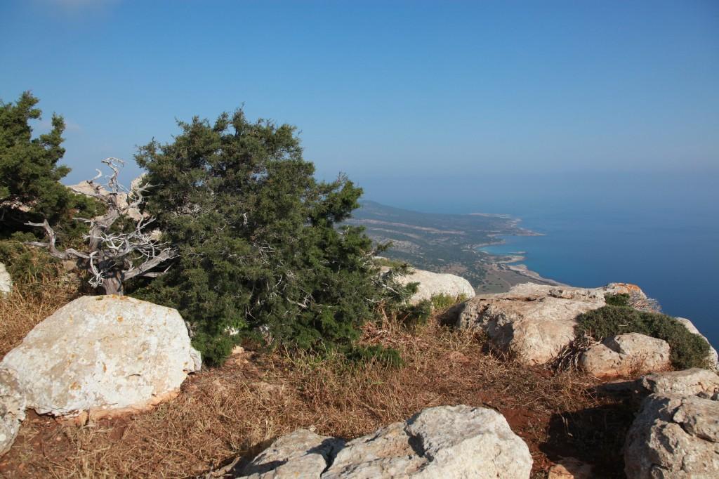 Zdjęcia: Półwysep Akamas, Polis Chrysochous, Z góry lepiej widać..., CYPR