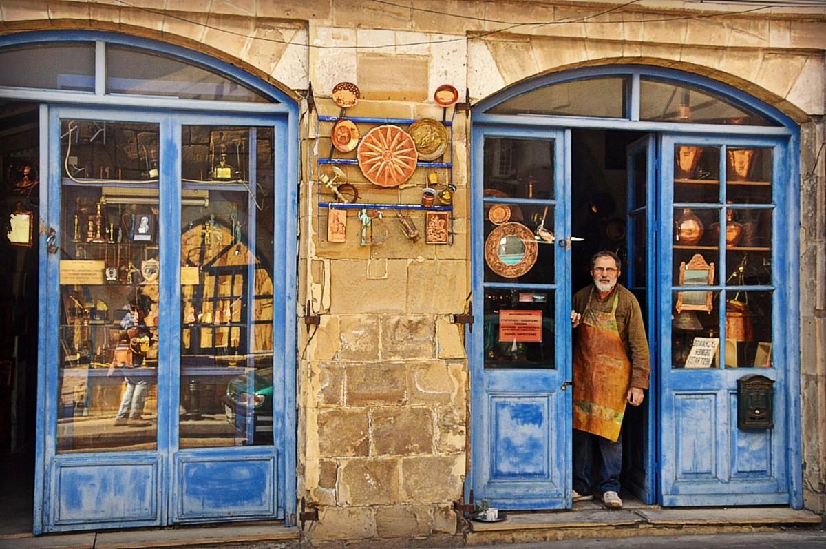 Zdjęcia: Larnaka, Sklep z rękodziełami, CYPR