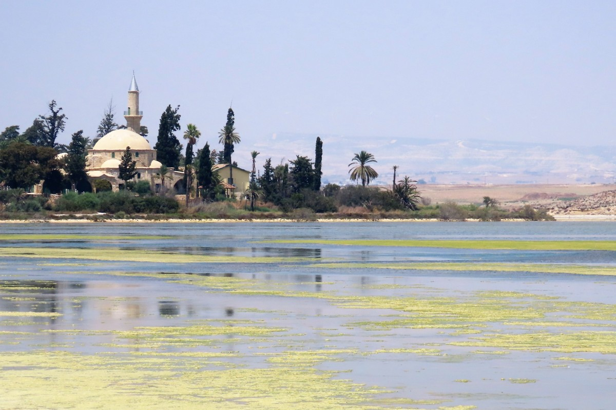 Zdjęcia: Larnaca, Hala Sultan Tekke, CYPR