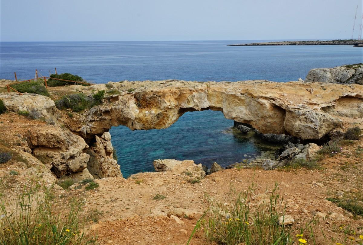 Zdjęcia: Ayia Napa,  Larnaka, Most miłości, CYPR