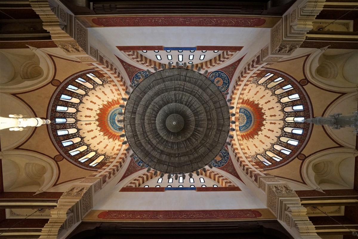 Zdjęcia: Meczet Mohammad Al-Amin, Bejrut, Sklepienie, CYPR