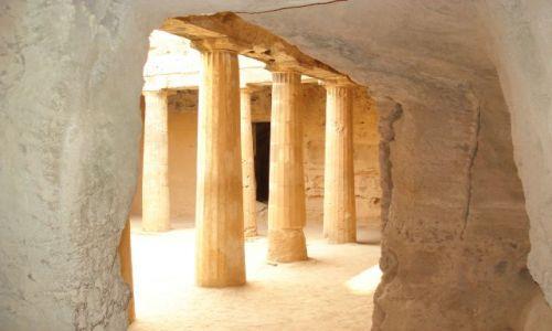 Zdjęcie CYPR / Pafos / Pafos / Grobowce królewskie