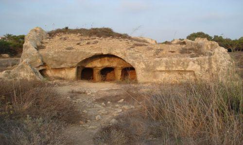 Zdjecie CYPR / Pafos / Pafos / Pojedynczy grobowiec