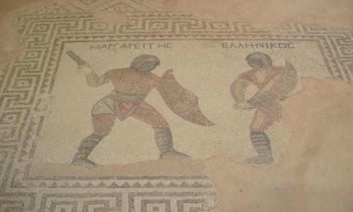 Zdjęcie CYPR / Larnaka / Kourion / Curium / Mozaiki z Curium