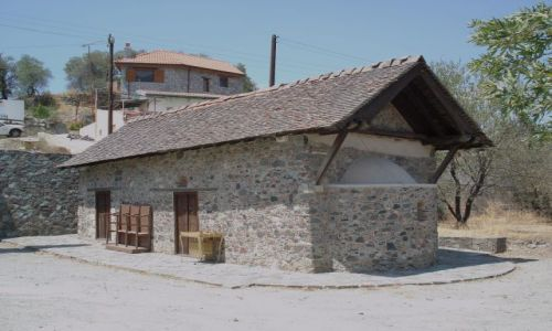 CYPR / Troodos / Agios Mamas / Kościoły z Troodos