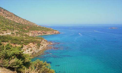 CYPR / Pafos / półwysep Akamas / Morze