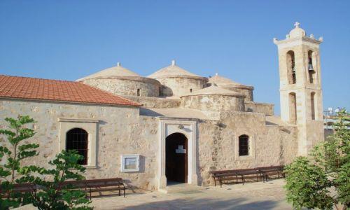 Zdjęcie CYPR / Pafos / Geroskipou / Na Cyprze są też normalne kościoły