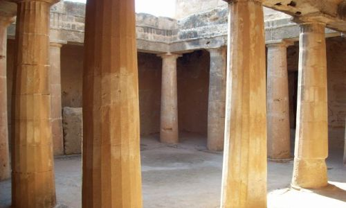 Zdjecie CYPR / Pafos / Tombs / Tombs of the kings