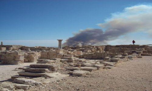 Zdjecie CYPR / Limassol / Kouriou / pożar lasu w pobliżu Kouriou