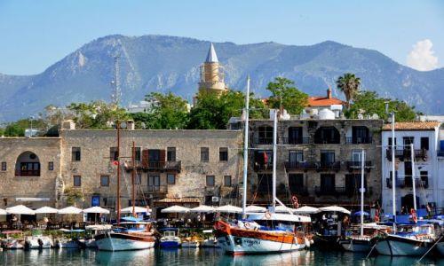 Zdjecie CYPR / Cypr Północny / Kirenia / Port w Kirenii