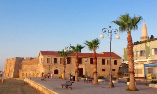 Zdjęcie CYPR / Larnaka / Bulwar / Twierdza