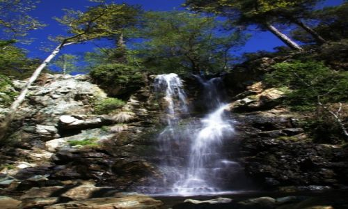Zdjecie CYPR / Góry Troodos / Rzeka Kryos Potamos / Wodospad Kaledonia