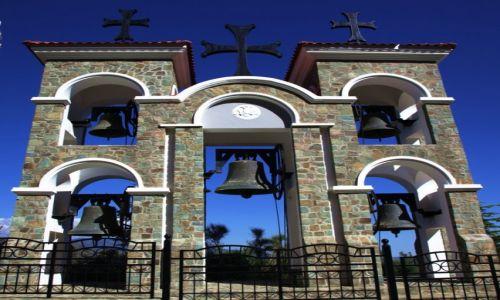 Zdjęcie CYPR / Marathasa / Góry Troodos  / Klasztor Kykkos, dzwonnica