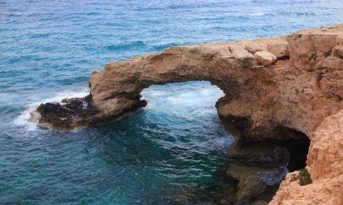 Zdjecie CYPR / Larnaka / Ayia Napa / Mosty i jaskinie