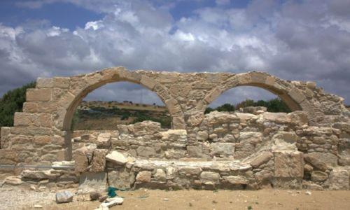 Zdjęcie CYPR / Limassol / Kourion / Ruiny bazyliki