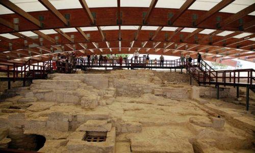 Zdjęcie CYPR / Limassol / Kourion / Ruiny domu Eustoliosa