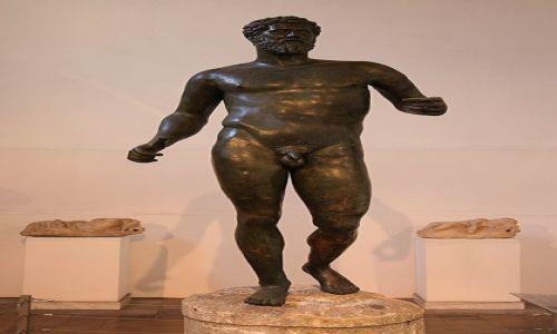 Zdjecie CYPR / Nikozja / Muzeum archeologiczne Cypru / Posąg cesarza Septymiusza Sewera