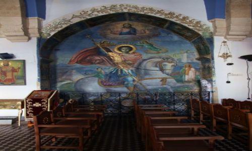 Zdjęcie CYPR / Famagusta / Paralimni,  / Kościół św. Jerzego, malowidło