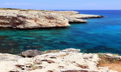 Zdjęcie CYPR / Famagusta / Paralimni  / Skały i woda