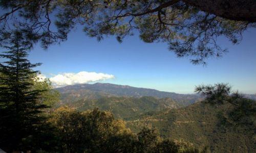 CYPR / Góry Troodos / Klasztor Kykkos / Pasmo gór Troodos