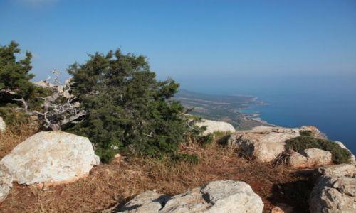 Zdjęcie CYPR / Polis Chrysochous / Półwysep Akamas / Z góry lepiej widać...