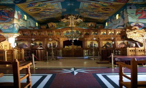 Zdjęcie CYPR / Tylliria / Pachiamos / Kościół św. Rafaela, wnętrze