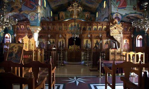 Zdjecie CYPR / Tylliria / Pachiamos / Kościół św. Rafaela, wnętrze