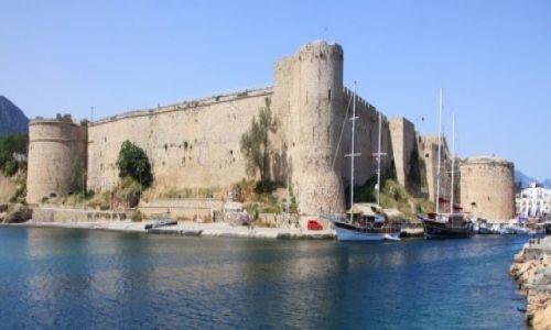 CYPR / Kyrenia  / Port / Zamek Kyrenia