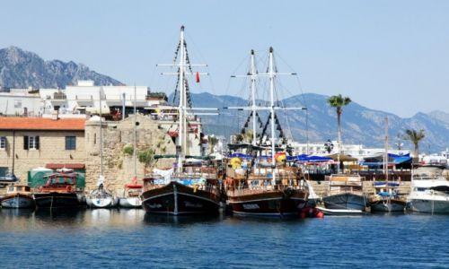 Zdjęcie CYPR / Kyrenia  / Port / Przystań jachtowa