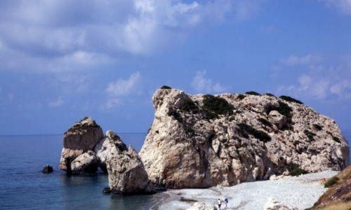 Zdjęcie CYPR / Pafos / Droga z Pissouri / Skały Afrodyty
