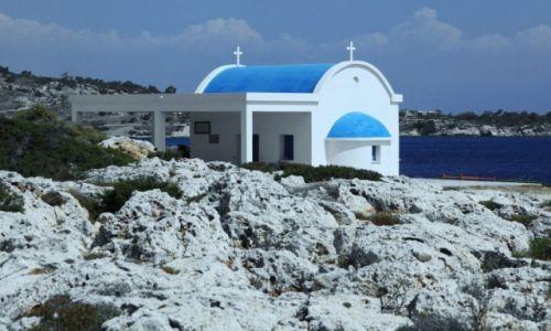 Zdjecie CYPR / Famagusta / Paralimni / Świątynia na skałach