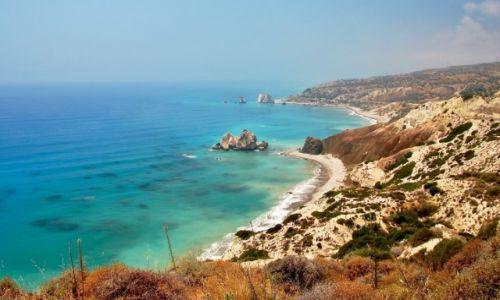 Zdjęcie CYPR / Paphos / Paphos / Plaża Afrodyty...