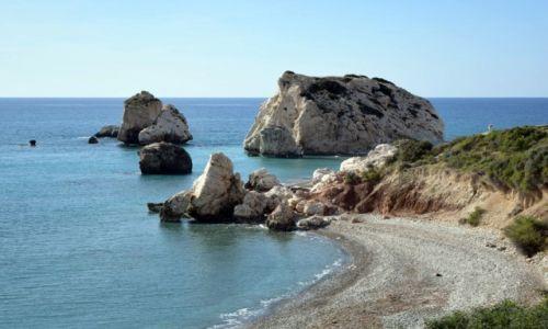 Zdjecie CYPR / Pafos / Petra tou Romiou / Skała Afrodyty