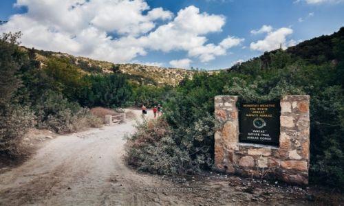 Zdjęcie CYPR / Dystrykt Pafos / Wąwóz Avakas / Wejście