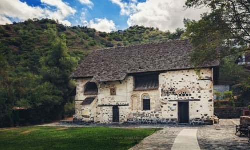 CYPR / Troodos Mountains / Kakopetria / Agios Nikolaos tis Stegis