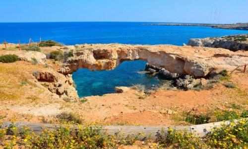 Zdjecie CYPR / - / Ayia Napa / Stone Arch Cape Greco