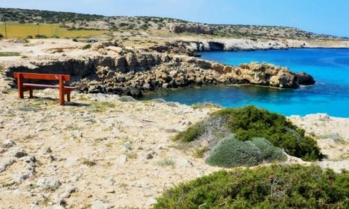 Zdjecie CYPR / Ayia Napa / Capo Greco / Bezludna wyspa
