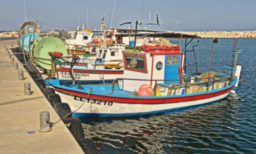 Zdjęcie CYPR / - / Larnaka / Port rybacki