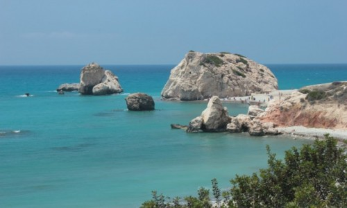 Zdjęcie CYPR / Cypr / Cypr / Skała Afrodyty