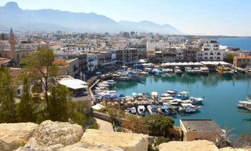 Zdjęcie CYPR / - / Kyrenia / Port Girne