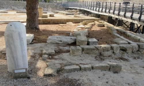 Zdjęcie CYPR / Paphos / Paphos / Pręgierz, przy którym był  chłostany św. Paweł